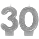 30th Silver Candle