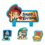 Jake and the Never Land Pirates Birthday Candles