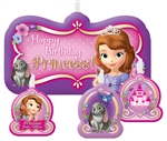 Sofia the First Princess Molded Birthday Candles