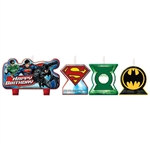 Justice League Birthday Candle Set