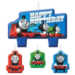 Thomas All Abroard birthday candles