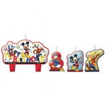 MICKEY MOUSE BIRTHDAY CANDLES