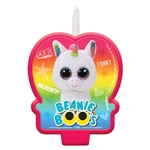 TY Beanie Boos Cake Candle