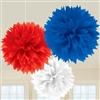 Patriotic Fluffy Decorations