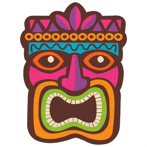 Luau tiki cutout decoration bartzs party stores luau tiki cutout decoration stopboris Images