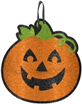 Glitter Jack-O-Lantern Decoration
