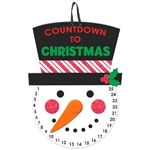 Christmas Countdown Medium Hanging Sign