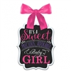 BABY SHOWER GIRL CHALK SIGN