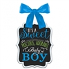 BABY SHOWER BOY CHALK SIGN