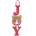 Joy Holiday Hanging Sign