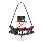 Snowman Be Merry Mini Sign