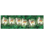 Llama Battery Operated String Lights