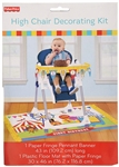 Fisher Price 1ST Birthday Circus High Chair Kit