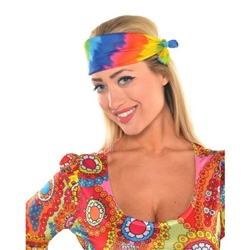 1960's Value Pack Tie Dye Bandanas
