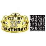 SPARKLING CELEBRATION TIARA ADD AN AGE