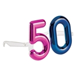 The Big 50 - 50th Birthday Glasses
