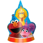 SESAME STREET 2 PAPER CONE HATS