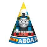 Thomas The Tank All Aboard Party Cone Hats