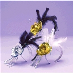 Evening Elegance Rose And Feather Tiara
