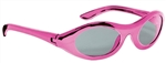 Pink Metallic Oval Glasses