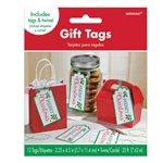 Holly Container Tags And Twine