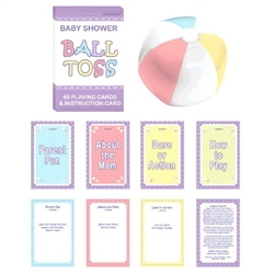 Question Ball Baby Shower Game