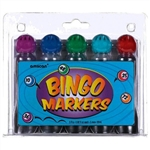 BINGO MARKERS - ASSORTED COLORS