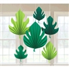 PALM LEAF SHAPED FAN DECOS