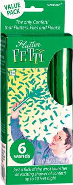Green Flutter Fetti Value Pack