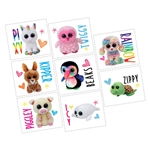 Ty Beanie Boos Temporary Tattoos Favors