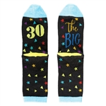 The Big 30 - 30th Birthday Socks