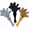 Hand Clappers Glitter Black/Silver/Gold Value Pack