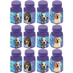 Party Pups Mini Bubble Favors