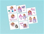 Sofia the First Princess Tattoo Favors