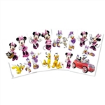 Disney Minnie Mouse Temporary Tattoos Favors