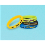 Batman Rubber Bracelet Favors