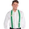 St. Patrick's Day Suspenders with Buttons