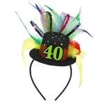 40th Birthday Fascinator