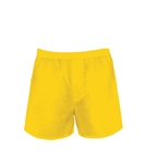 Yellow Boxer Shorts One Size
