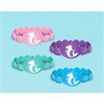 ARIEL DREAM BIG RUBBER BRACELETS