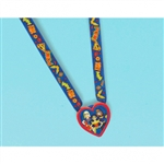 DC SUPERHERO GIRLS CHARM NECKLACE