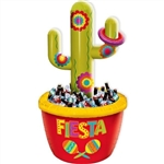 CACTUS COOLER AND RING TOSS GAME INFLATABLE