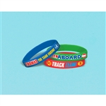 THOMAS ALL ABOARD RUBBER BRACELETS FAVORS