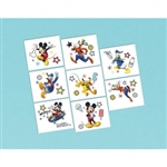 MICKEY ON THE GO TEMPORARY TATTOO FAVORS
