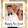 New Year's Giant Frame Photo Prop