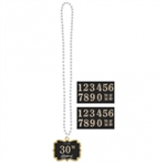 SPARKLING CELEBRATION NECKLACE ADD AN AGE