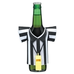 Referee Foam Drink Kozy With Plastic Whistle