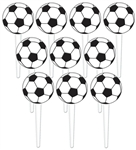 Soccer Ball Plastic Picks