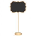 CHALKBOARD STANDING SIGNS 4PACK
