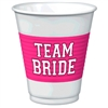 Team Bride Plastic Cups